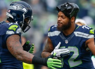 michael bennett clarified black lives matter comment to cam newton 2016 images