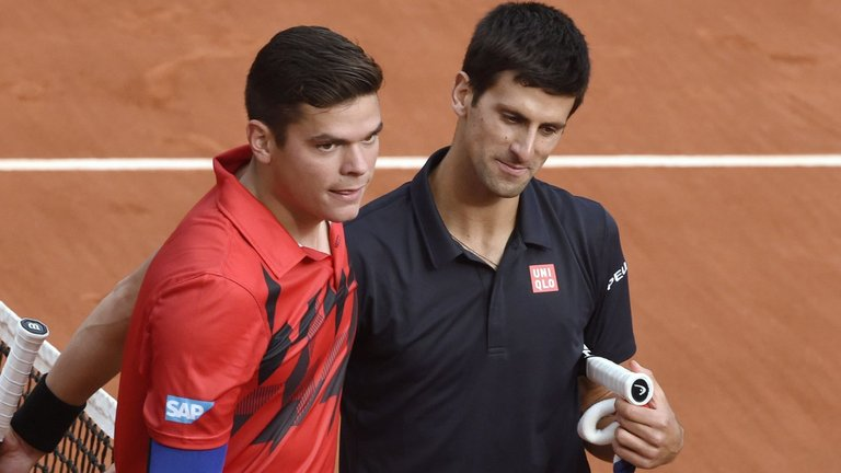 milos raonic could get novak djokovics seed 2016 images
