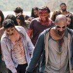 nick walking with walkers fer the walking dead