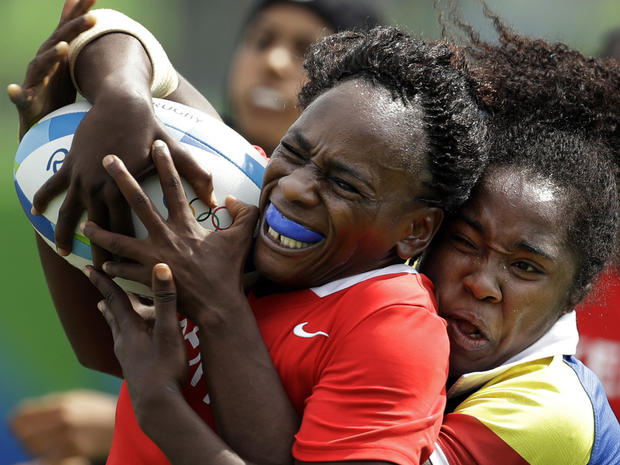 2016 games Rio Olympics Rugby Women
