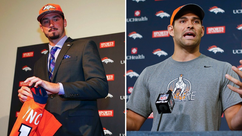paxton lynch seeing better chances to start broncos as mark sanchez slips 2016 images
