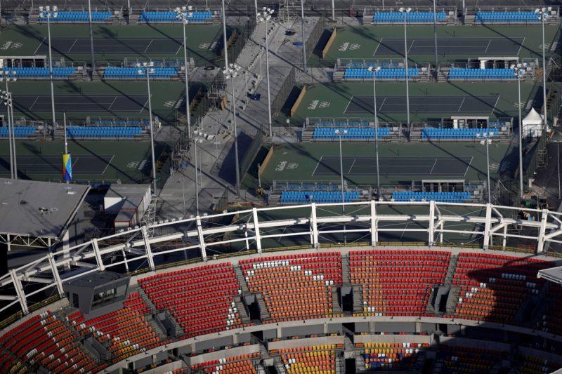 rio olympics tennis stadium 2016