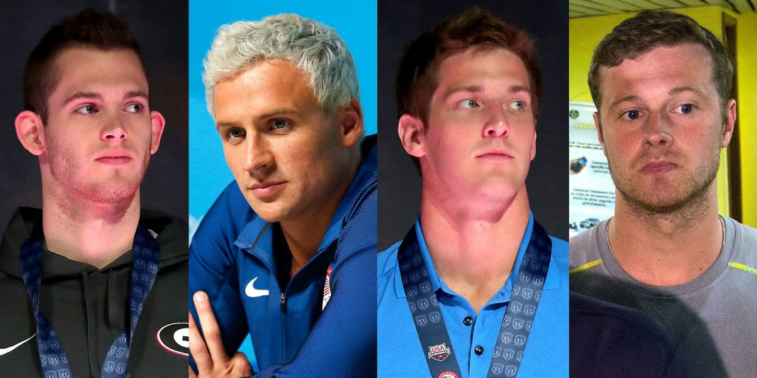 ryan lochte cant get anyone to back up his robbery story 2016 images