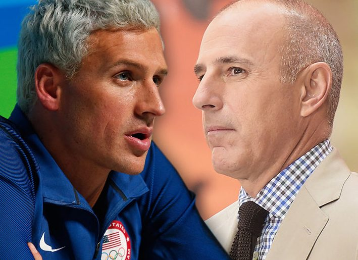 ryan lochte lie to matt lauer