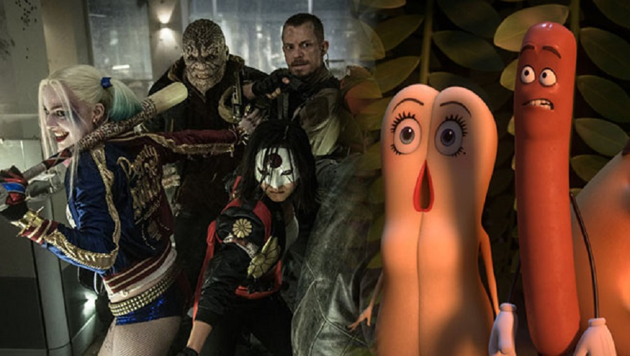 'Sausage Party' can't top 'Suicide Squad' at box office 2016 images