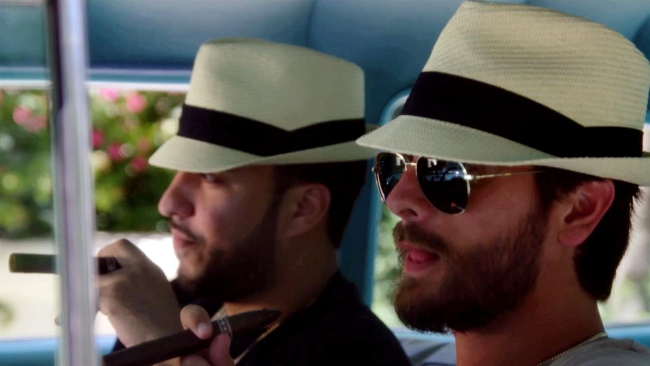 scott disick sucking up on french montana kuwtk 2016