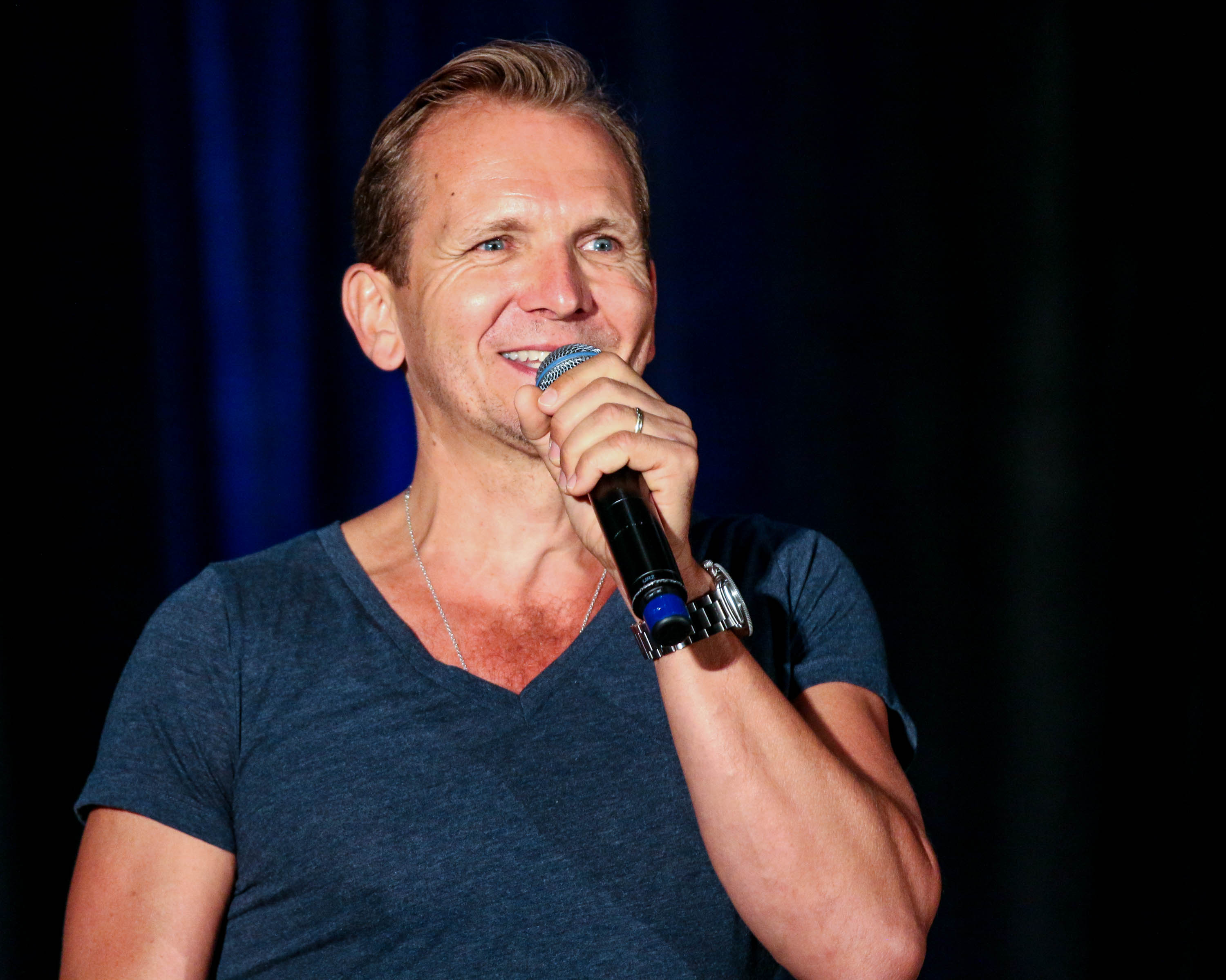 sebastian roche balthazar supernatural at convention 2016