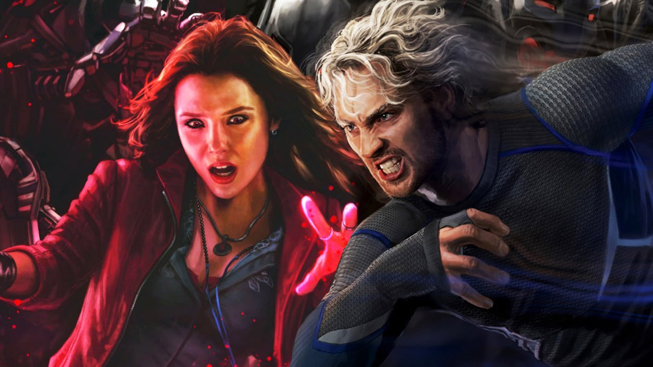 Separation anxiety for Quicksilver and Scarlet Witch 2016 images