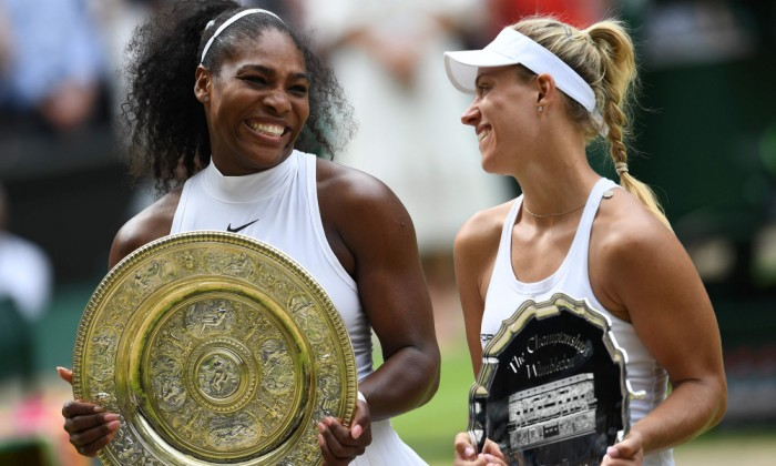 serena williams angelique kerber have competition for top spot