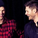 supernatural brothers laughint