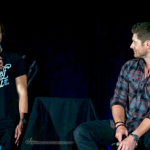 supernatural convention jared palecki and jensen ackles talking