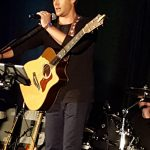 supernatural jensen ackles performing with guitar