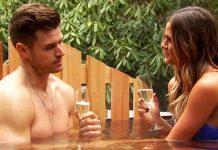 the bachelorette finale jojo fletcher in hot tub with jordan rodgers 2016
