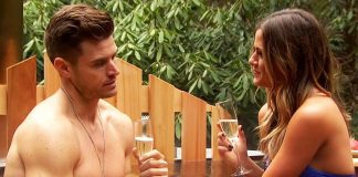 the bachelorette finale jojo fletcher in hot tub with jordan rodgers 2016