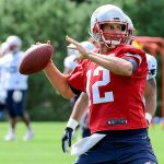 tom brady back after scissor cut