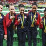 us gymnastics team wins gold at rio