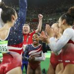 U.S. Gymnastics team aka Final Five win gold at Rio Olympics