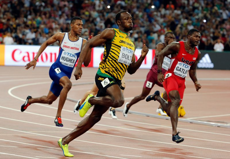 usain bolt at rio olympics