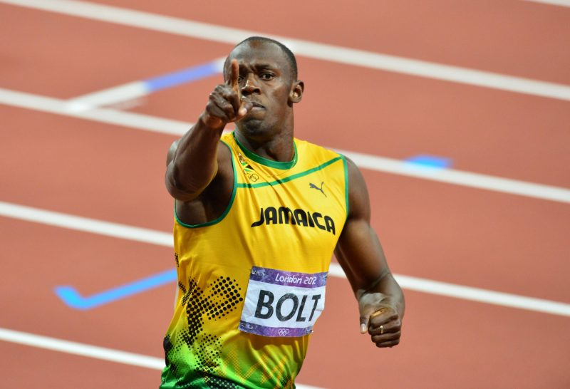 usain bolt fastest man in the world at rio olympics