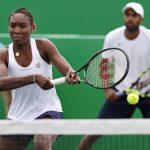 venus williams with rajeev ram rio olympics tennis