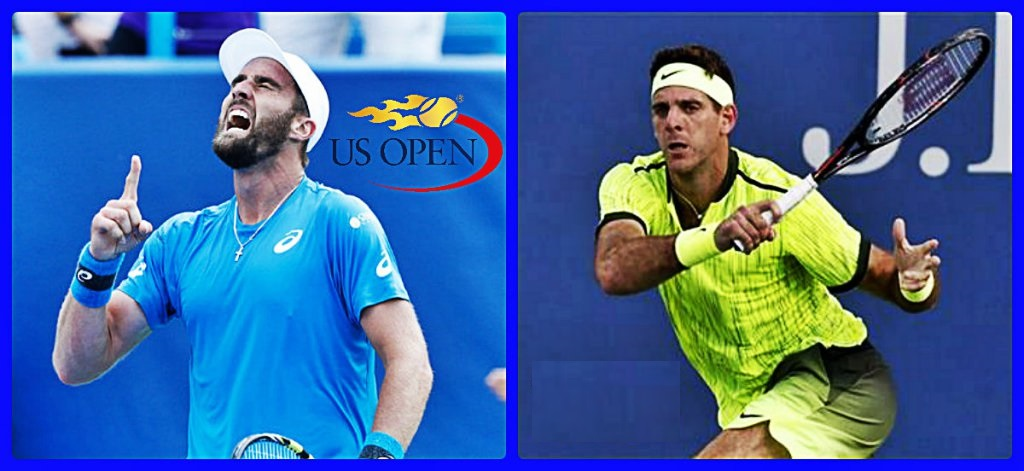 2016 US Open Highlights: Steve Johnson vs Juan Martin del Potro tennis images