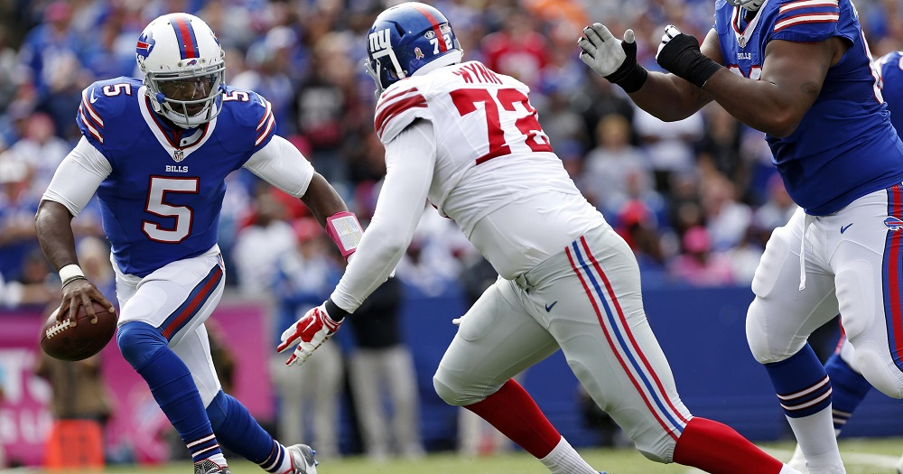 Buffalo Bills, New York Giants Top Week One Fantasy Football Defense Starts 2016 images