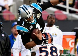 Cam Newton feels Panthers loss again to Broncos 21-20 2016 images