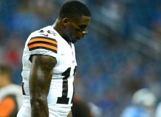 Josh Gordon chooses drugs over football 2016 images