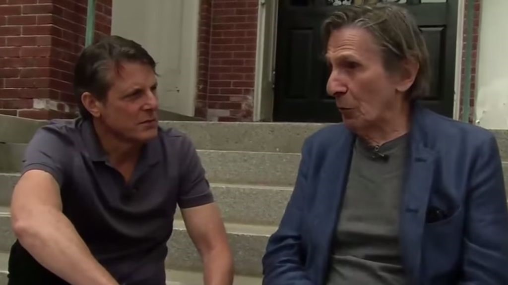 adam nimoy with father leonard