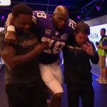 adrian peterson out with injury for vikings