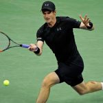 andy murray power serve knocks grigor dimitrov out of us open 2016 images