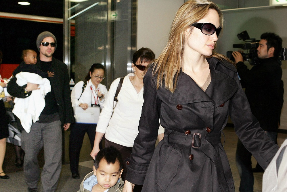 Angelina Jolie's full custody uphill battle with Brad Pitt 2016 images