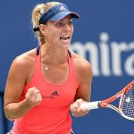 Angelique Kerber earned her No. 1 ranked player