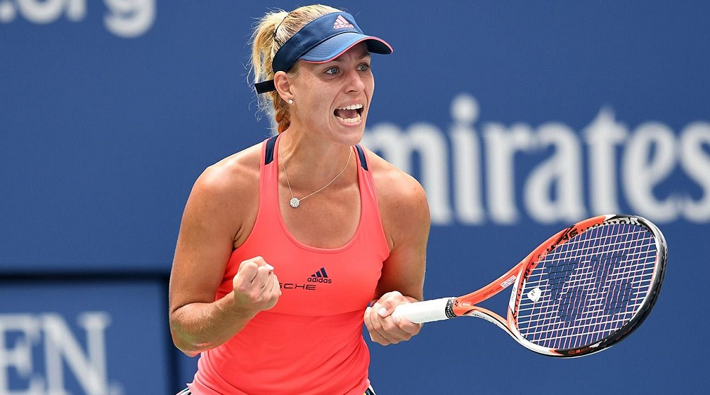 Angelique Kerber earned her No. 1 ranked player 2016 images