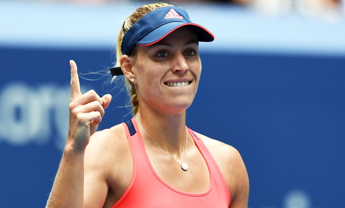 Angelique Kerber vs Karolina Pliskova: 2016 US Open highlights tennis images