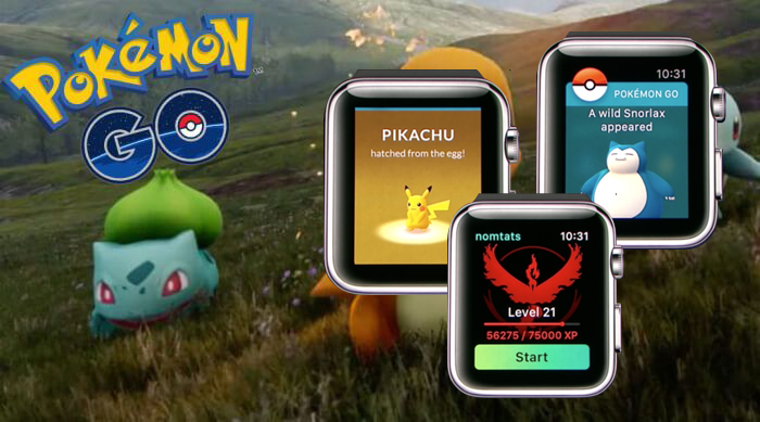 apple watch pokemon go images