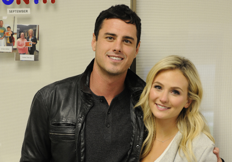 ben higgins with lauren bushnell new bachelor show