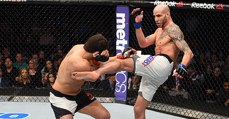 ben saunders back with ufc 2016 mma