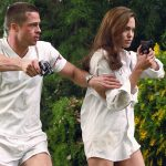 Brad Pitt and Angelina Jolie began and ended with films