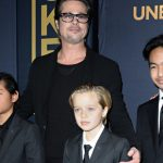 brad pitt has yelled at kids but not hit