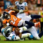 broncos defense worked over cam newton