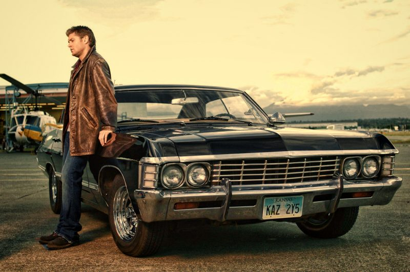 dean winchester supernatural impala
