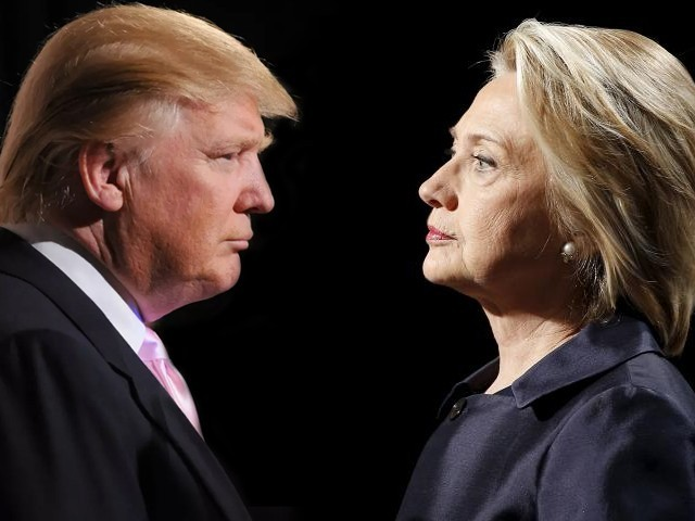 donald trump vs hillary clinton top issues