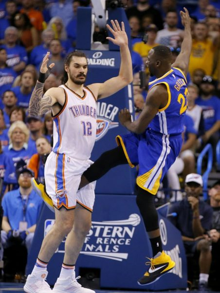 draymond green nba groin kick 2016 images