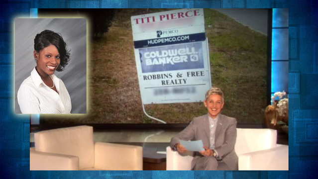 ellen learns not to mess with titi pierce
