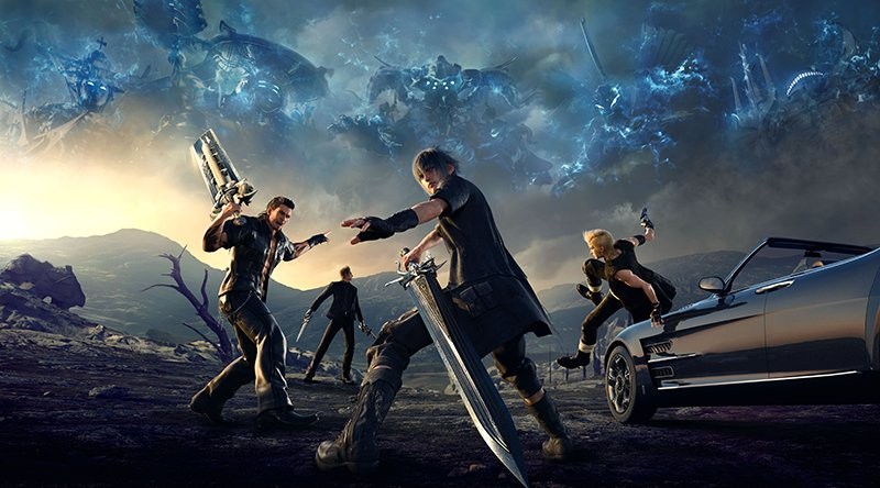 final fantasy 15 gameplay