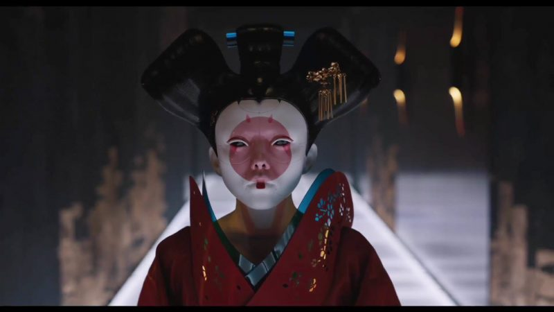 ghost in the shell front geisha