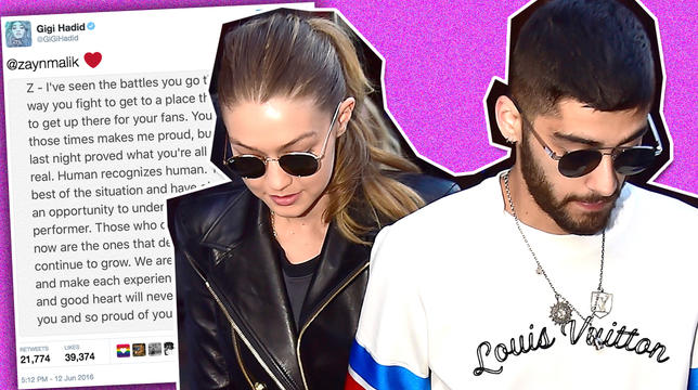 gigi hadid on zayn malik anxiety issues