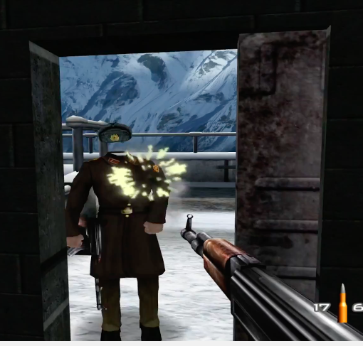 goldeneye 007 invisible head