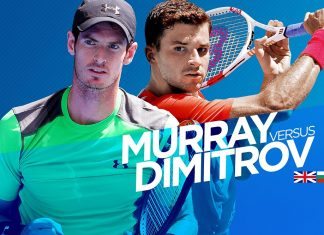 grigor dimitrov vs andy murray two years later at us open 2016 images